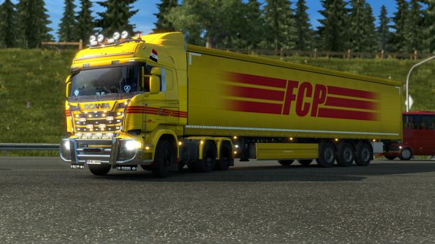 ETS 2 - Scania R580 - 1 by HappyLuy