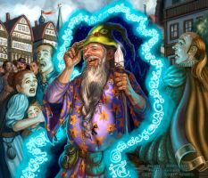 Temporal Mage for Talisman The City by feliciacano