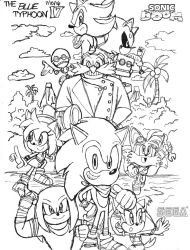 Sonic Boom (TV series) Artwork by BlueTyphoon17