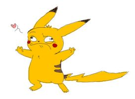 Doh... This is Pikachu by Pascalou