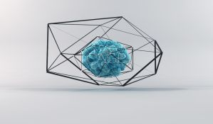 C4D - 'Cage' abstract by b4ddy