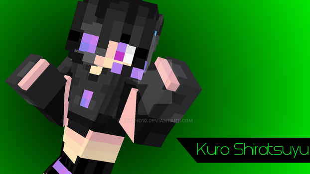 Kuro Shiratsuyu [OC Minecraft Skin] by alysho10
