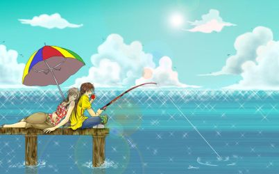 Gone fishin' by dominique871