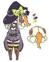 Witchy Adopt Auction [closed] pp+points by enoshlma