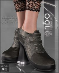Vogue for Season of the Witch Shoes G8F by cosmosue