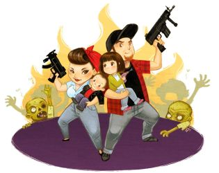 Zombie Killers by OlayaValle