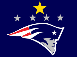 New England Patriots: Five Time Champions by commandercharon2