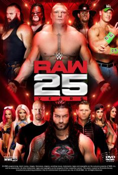 WWE Raw 25th Anniversary Show Poster by Chirantha