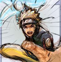 Naruto: Pwnage by lauraneato
