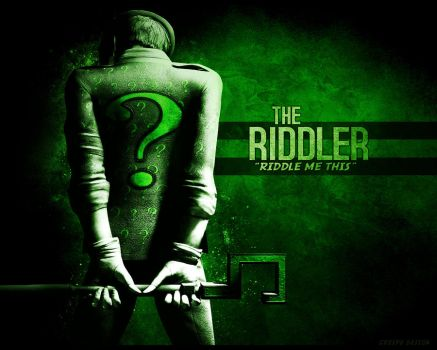 Riddler Wallpaper by Cre5po