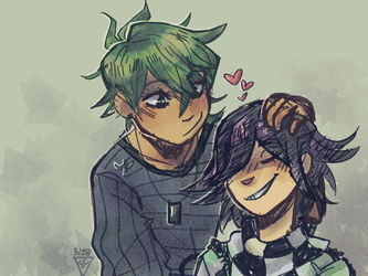 Ouma and Amami Babs by dessyxwessy