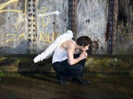 Grunge Angel stock 62 by Random-Acts-Stock