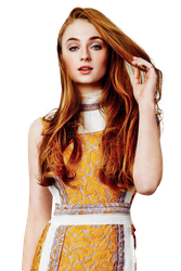 png ft. sophie turner by Andie-Mikaelson