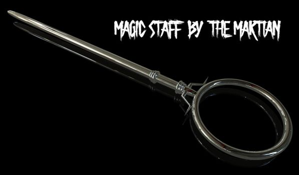 Fantsy Staff by themartianx