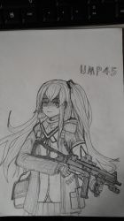 Girl's frontline, UMP45 by sunung0317