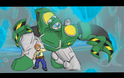 Rescue Bots - Boulder and Graham by ZoicZeph