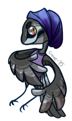 crow child! {sold} by FelisCoco