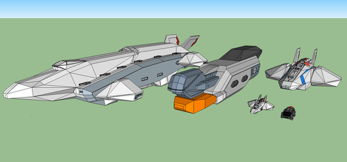 SSDC Ship Size Comparison by HWPD