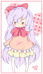 Commission example: Doll style + colouring style 1 by Zuyu