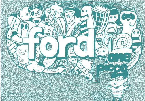 doodle:ford by andreakris