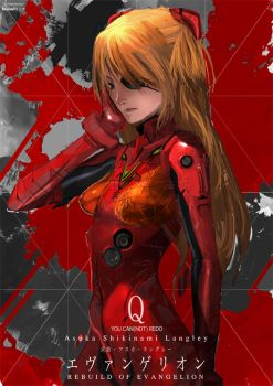 Asuka Shikinami Langley by NuMioH