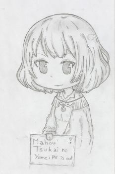 Quicky Fan-art : Chiby Chise for the anime PV ! by Texhnolized