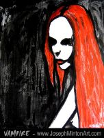 Vampire By. Joseph Minton by ArtForGoths