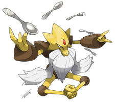 Mega-Alakazam (modified) by Tomycase