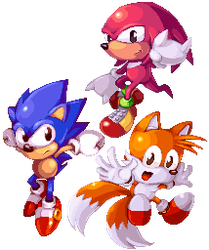 Sonic Mania by Orkimides