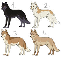 Canine Adoptables 005 by Gynadopts