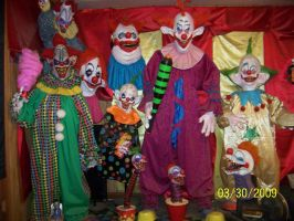 Killer Klowns Display Update by Blade-of-the-Moon
