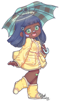 [+Speedpaint] ACNL Giveaway Prize | Mayor Nelita by milkat-sprout
