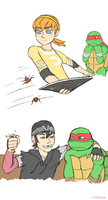 Raph's knights in shining armor by GoreChick