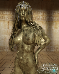 Egyptian Gold Sacrifice - 3 by Jessic21a