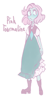 [Closed gem adoptable] Pink Tourmaline by crykng