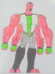 Ben 10-(Four Arms) 2 by JousamosPrime