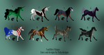 Funfilled Adoptables [OPEN] by Bela-designs