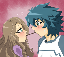 Pocky [Emeraldshipping/colored] by xLunar-Queenx