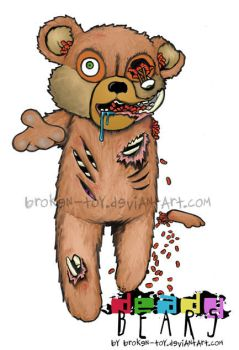 Deady Bears -The UnTed- colour by broken-toy