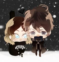[dl oc] chibis! winter is better with you by yooneurysm