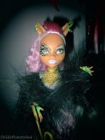 Monster High Ghoul's Rule: Clawdeen Two by Childofwestwind