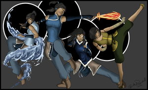 The Legend of Korra by ShortFocus