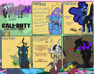 The Villains play CoD: Black Ops 2! by RedApropos