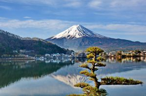 Mount Fuji by travelie