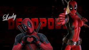 Lady Deadpool Wallpaper 9a by Curtdawg53
