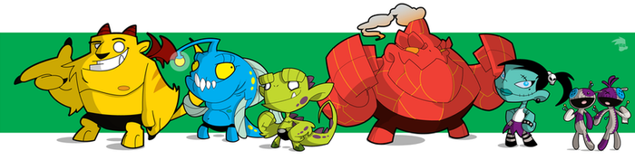Critters line up by spiers84