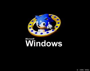 Sonic Windows by UltimaDude