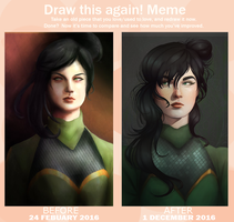 Before and After Meme by Evening-Trash