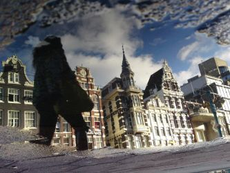 Reflections of Amsterdam 12 by amstersam