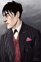 Penguin, Gotham (finished) by MimmuArt